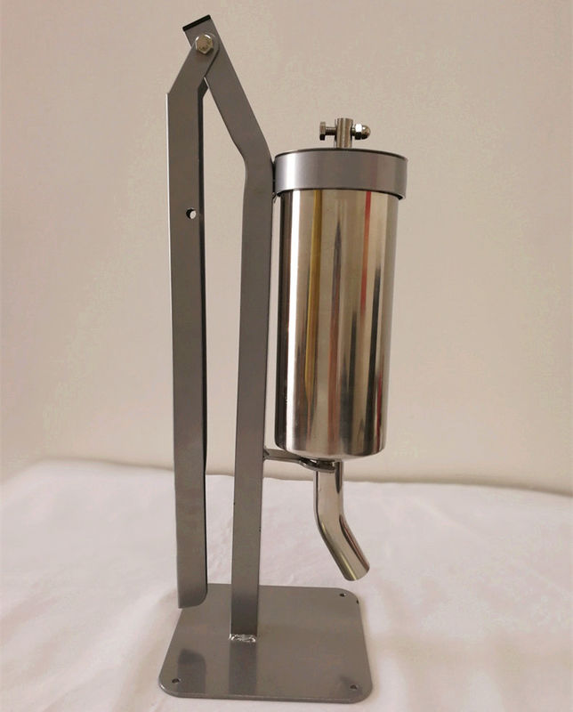 Small Home Sausage Making Equipment , 2kg Vertical Sausage Stuffer Stainless Steel